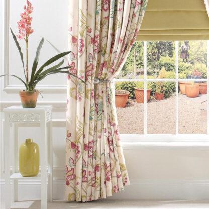 Paradise - Spring Chintz, Pinch Pleat Curtains