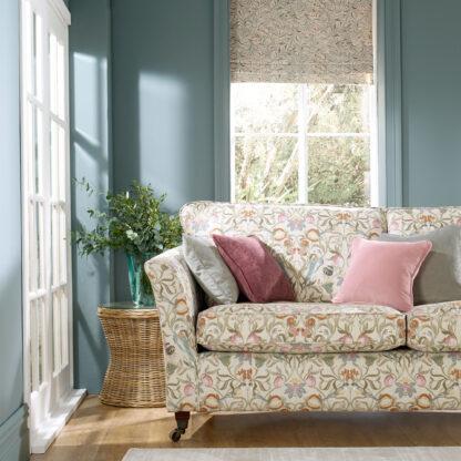 Tweet & Bramble - Stone, Designer sofa cover