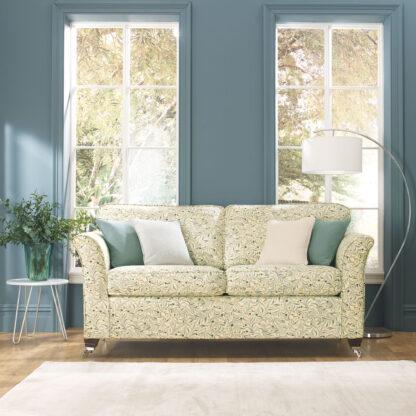 Leaves & Berries - Lemon, Designer sofa cover