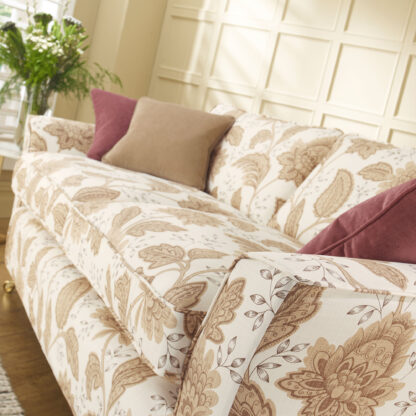 Charlton - Coffee Cream, Designer sofa cover