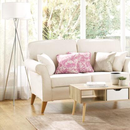 Abbey, Chalk Sofa cover