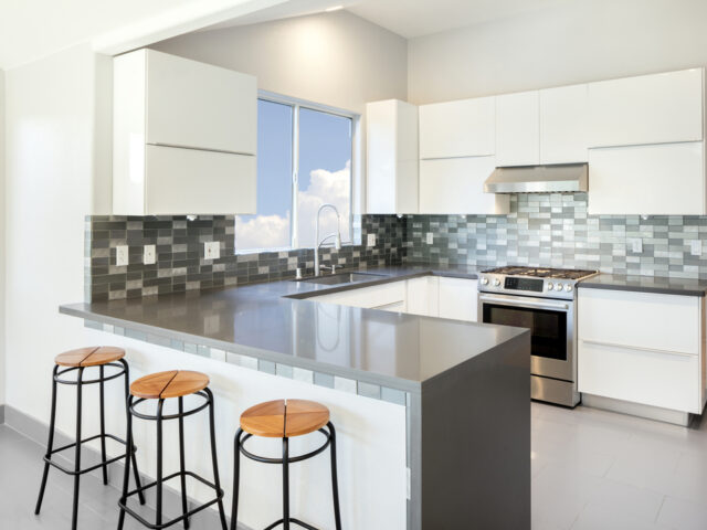 Grey Quartz Worktops