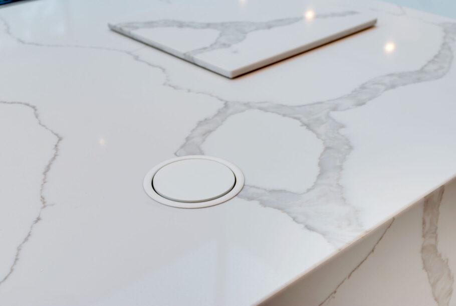 White Granite Kitchen Table