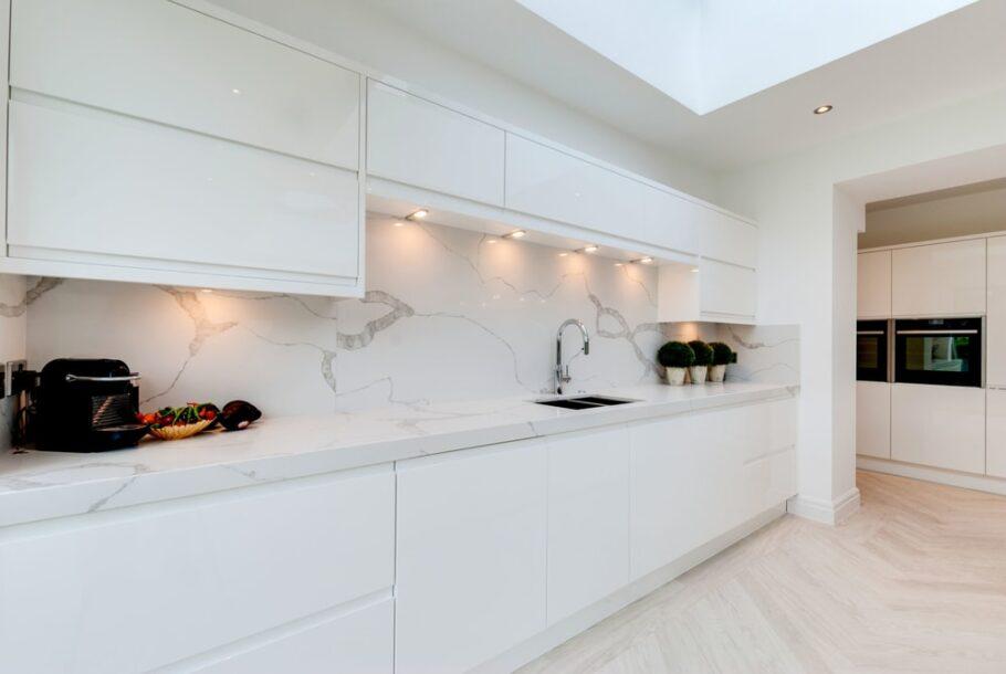 New Kitchen with Itastone Calacatta Quartz