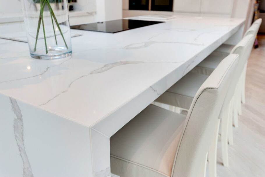 Itastone Calacatta Quartz Kitchen