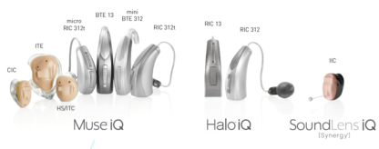 Stakey halo muse soundlens IQ hearing aids