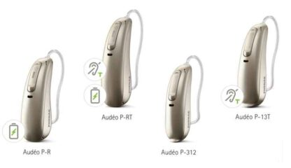 Phonak Paradise Audeo Product Range