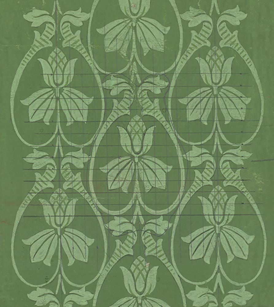 Art Nouveau floral <br />Late 19<sup>th</sup> century