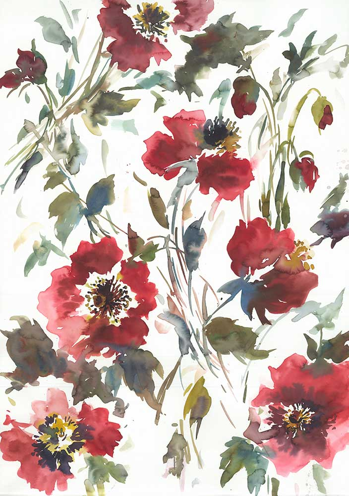 Watercolour floral <br />Modern artwork