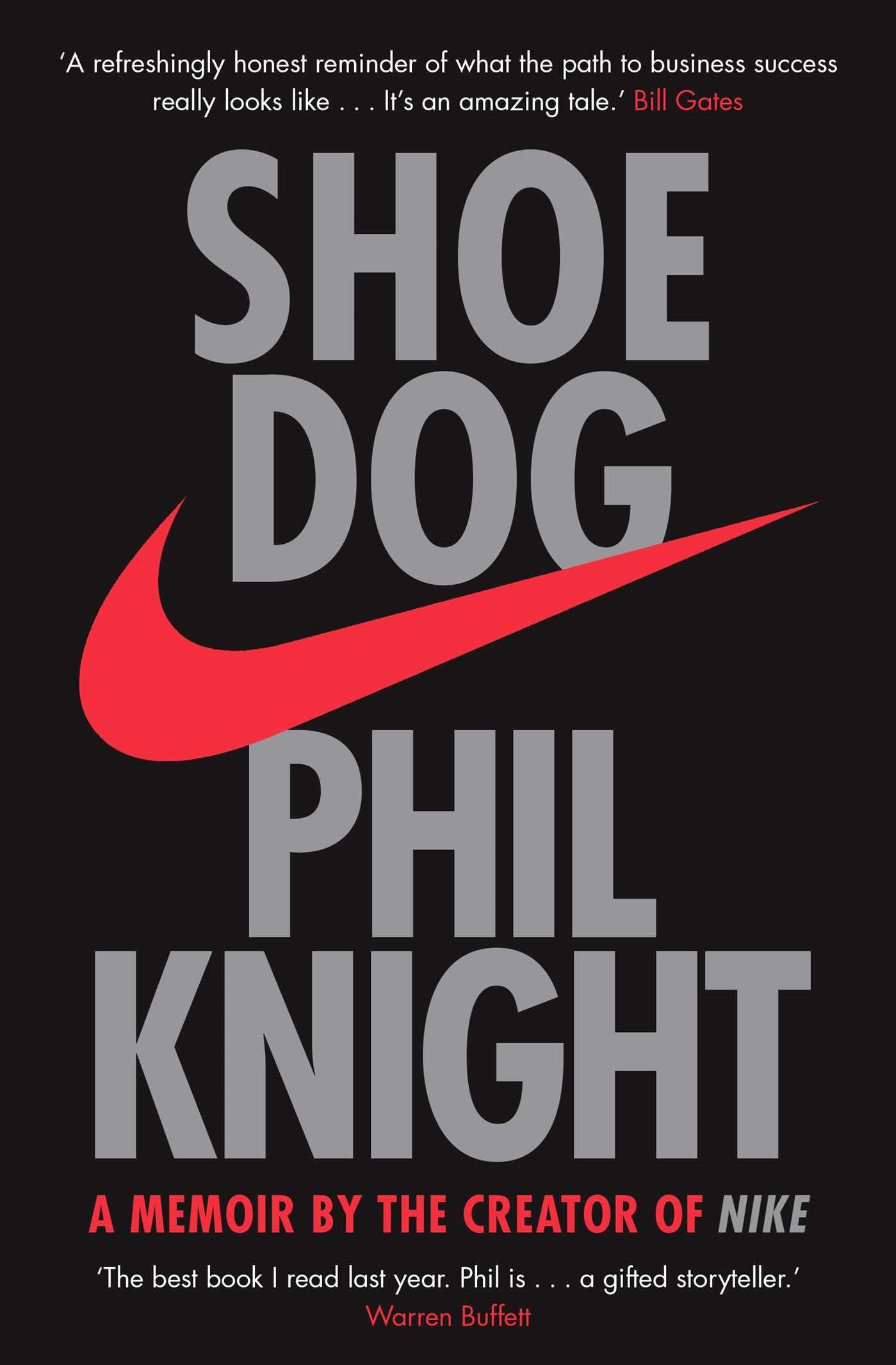 Phil Knight's memoir