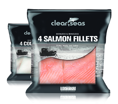 ClearSeas Salmon and Cod Fillets