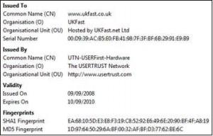 SSL detail