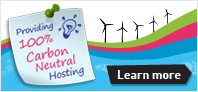 UKFast is the UK's First Certified Carbon Neutral Web Hosting Provider
