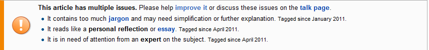 Wikipedia cloud page issues