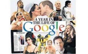 A year in the life of google