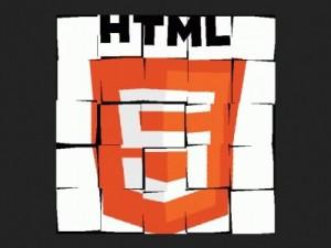 HTML5 split squares