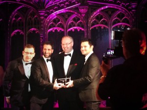 Hosting formUKFast takes home Manchester's Business of the Year Award 2014