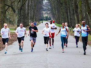 Diane Modahl UKFast running club