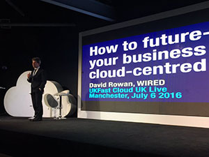 DAvid ROwan Cloud UK LIve