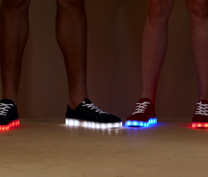 Simon Jersey flashing shoes