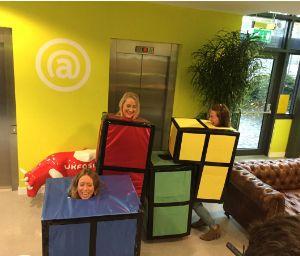 UKFast tetris halloween
