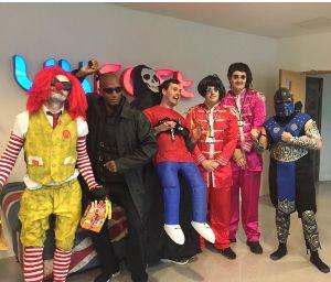 UKFast team halloween