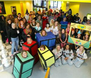 UKFast Halloween group shot