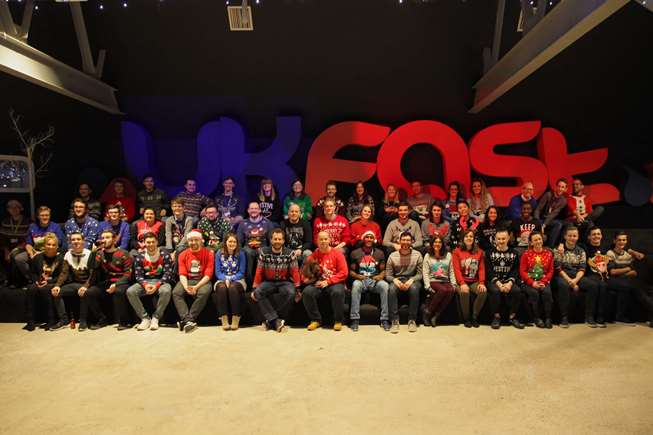UKFast Christmas Jumper Day 2016