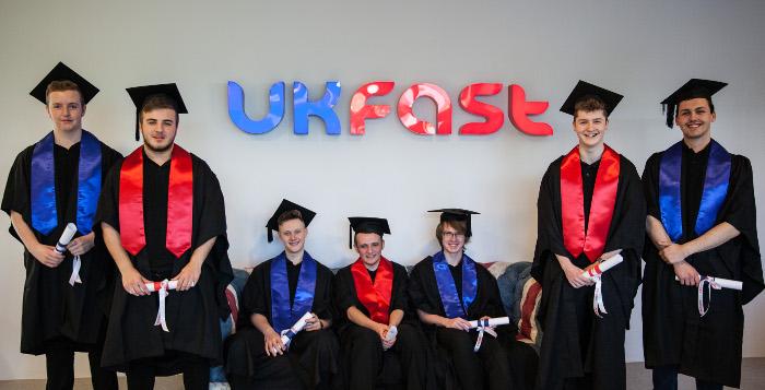 apprentice graduation ukfast 2017