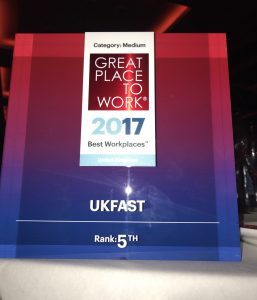 great place to work ukfast