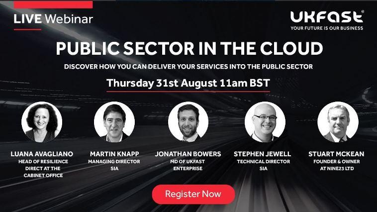 UKFast public sector webinar