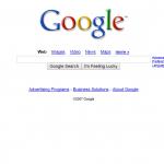 Google in 2007