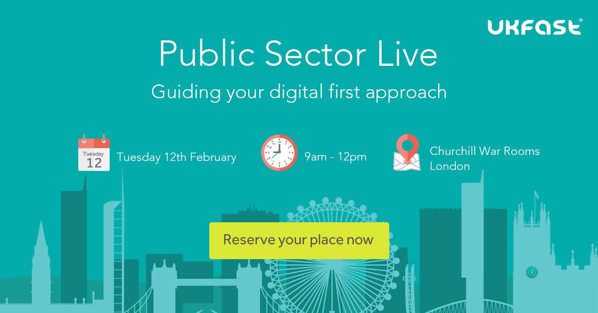 Social Media Banner Public Sector Live 2018